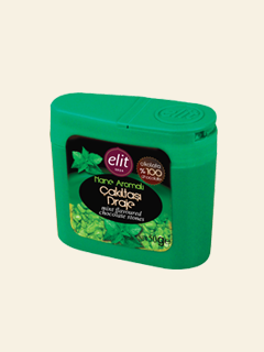 Mint Flavoured Chocolate Stones 50gr